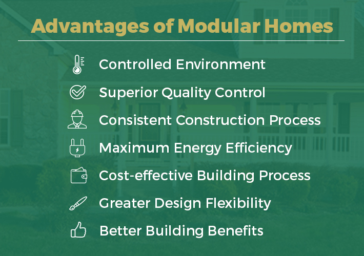 advantages of modular homes