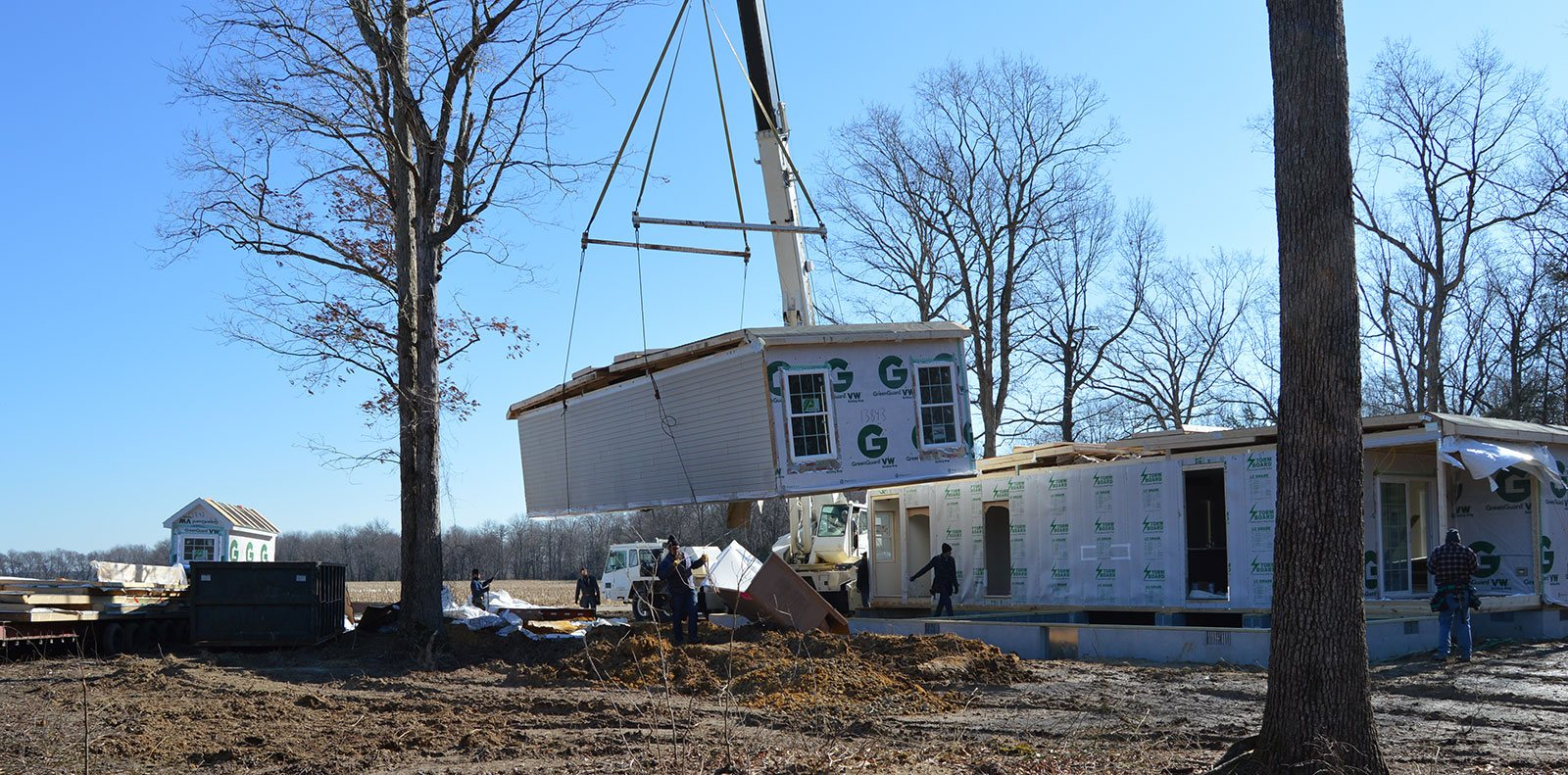 modular home building construction