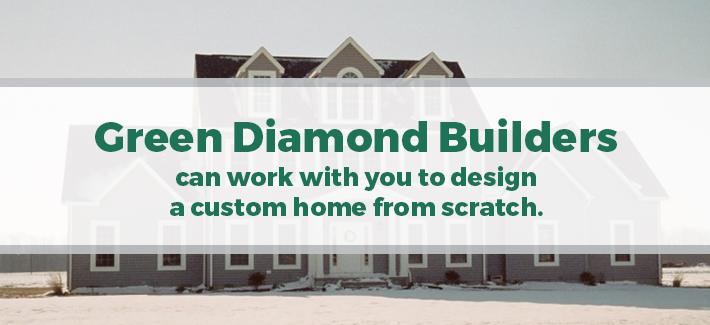 green diamond builders custom home