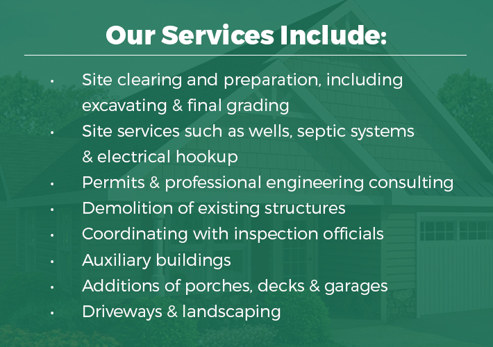 custom home building services