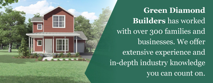 green diamond builders modular home building experience