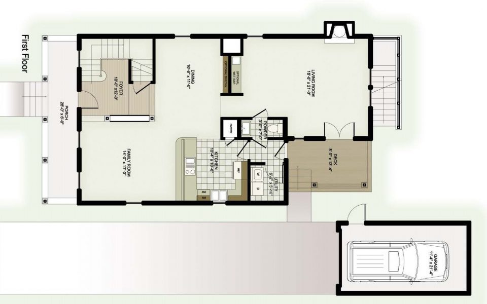 Sultana Home Floorplan